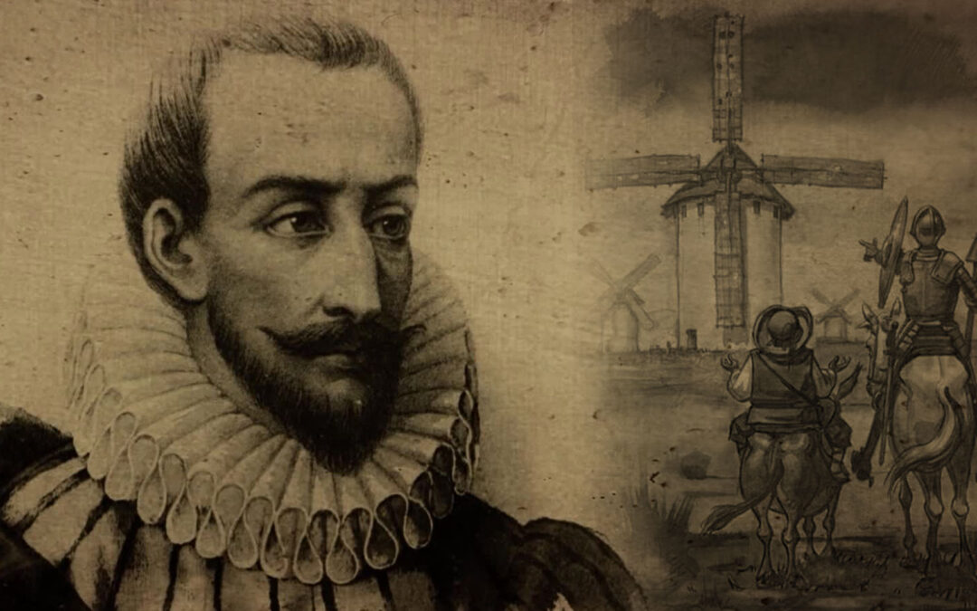 Tarek William Saab - escritor miguel de cervantes